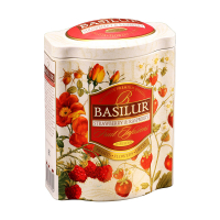 BASILUR Fruit Strawberry & Raspberry ovocný čaj 100 g
