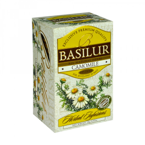 BASILUR Herbal Camomile 20 sáčků