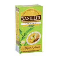 BASILUR Magic Melon & Banana zelený čaj 25 sáčků