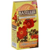 BASILUR Magic Raspberry & Rosehip černý čaj 100 g