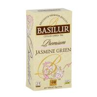 BASILUR Premium Jasmine green zelený čaj 25 sáčků