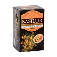 BASILUR Rooibos Peach Apricot bylinný čaj 20 sáčků
