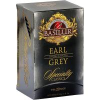 BASILUR Specialty Earl Grey černý čaj 20 sáčků
