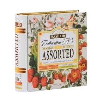 BASILUR Book Assorted Collection N°1 kolekce čajů 32 sáčků