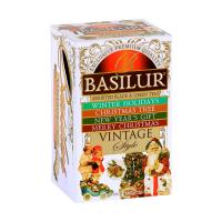BASILUR Vintage Assorted dárková kolekce čajů 20 sáčků