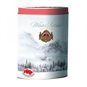 BASILUR Winter Berries Barberries černý čaj 100 g