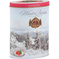BASILUR Winter Berries Raspberries černý čaj 100 g