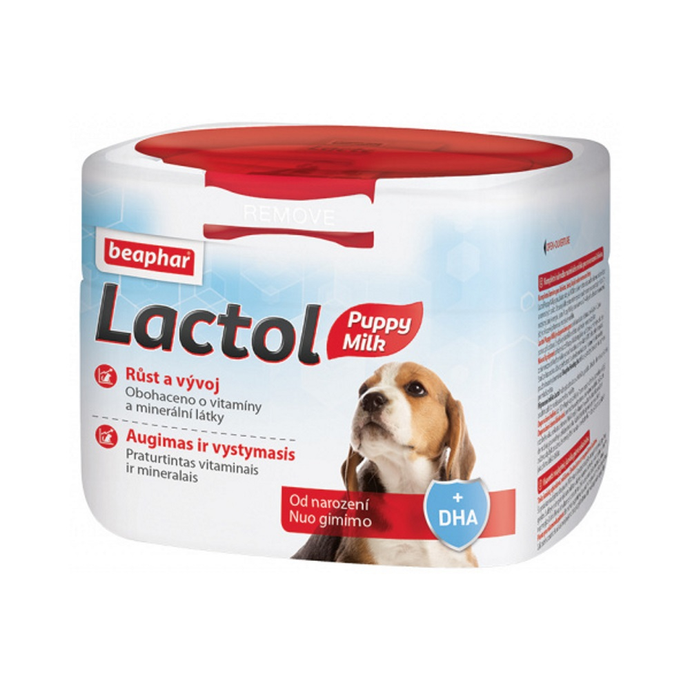 BEAPHAR Lactol Puppy sušené mléko pro štěňata 500 g