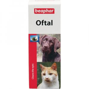 BEAPHAR Oftal oční kapky pro psy a kočky 50 ml