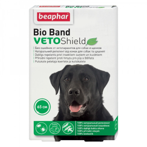 BEAPHAR Repelentní obojek pro psy Bio Band 65 cm