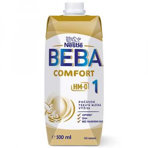 BEBA Comfort 1 HM-O Liquid Tekuté počáteční mléko 500 ml