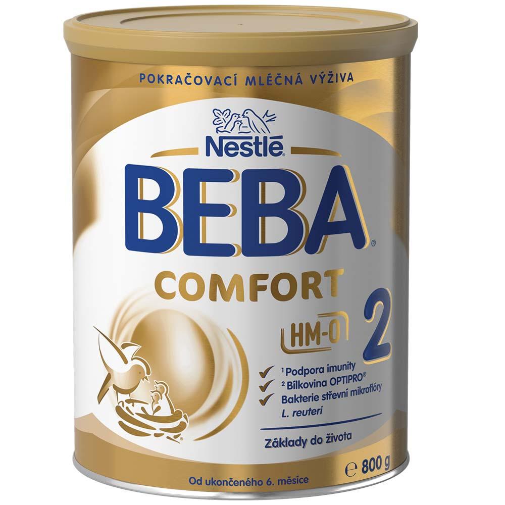 NESTLÉ BEBA Comfort 2 HM-O Pokračovací mléko od ukončeného 6.měsíce 800 g