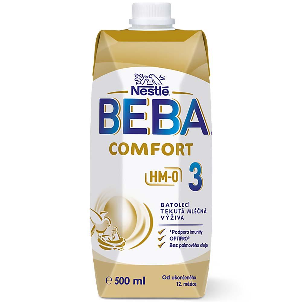 BEBA Comfort 3 HM-O Liquid Tekutá mléčná výživa od 12.měsíce 500 ml