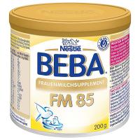 BEBA FM 85 Hypoalergenní přípravek k mateřskému mléku od narození 200 g