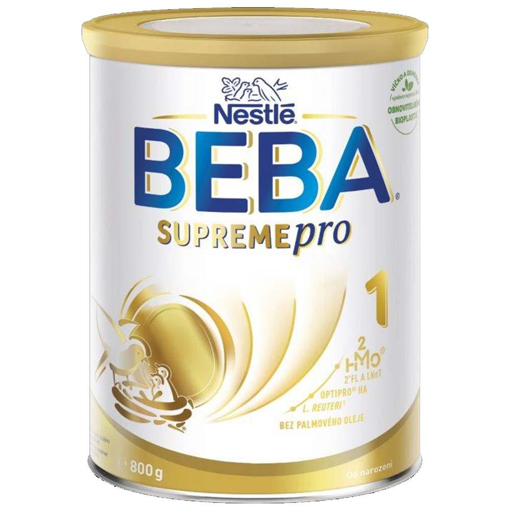 BEBA SupremePro 1 Počáteční kojenecké mléko od narození 800 g