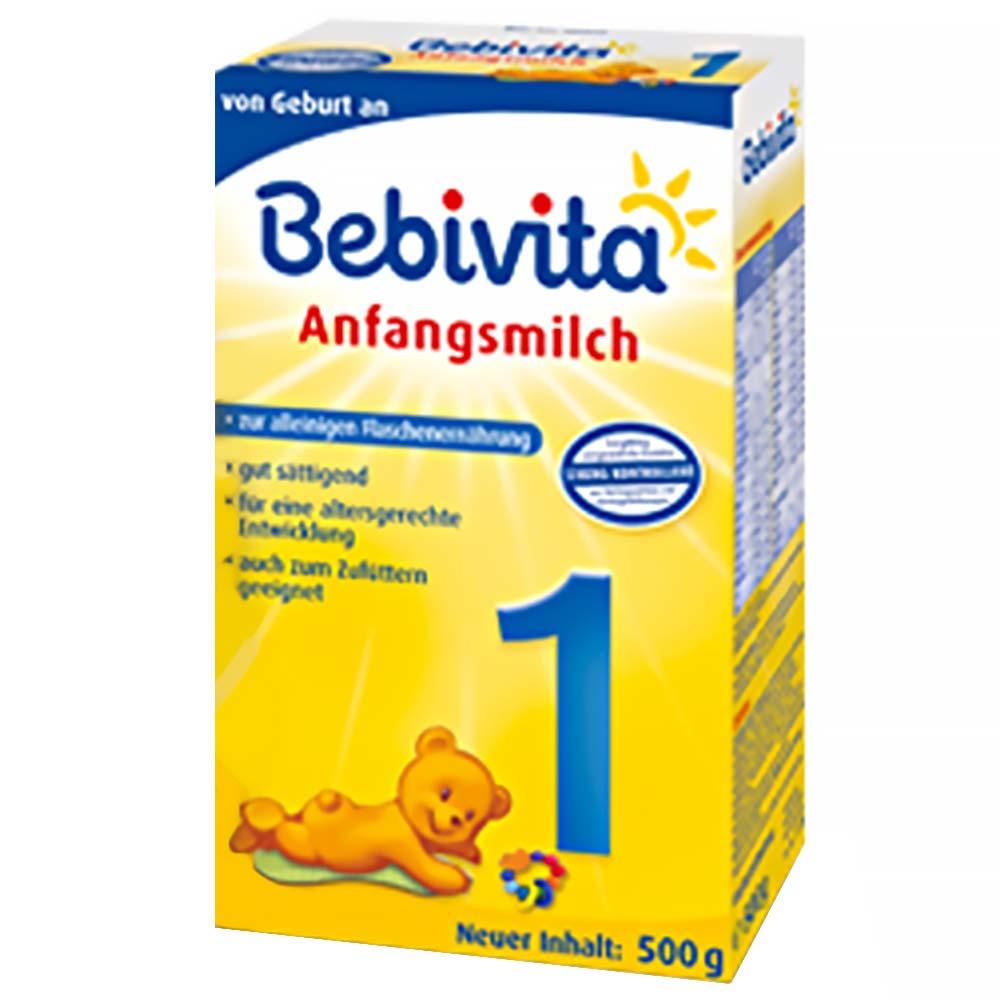 BEBIVITA 1 Počáteční kojenecké mléko od 0-6 měsíců 500 g
