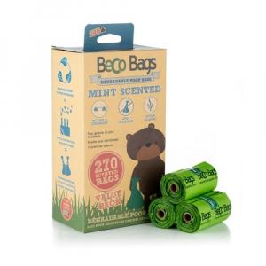 BECO Bags EKO Sáčky na exkrementy s peprmintovou vůní 270 ks