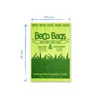 BECO Bags EKO Sáčky na exkrementy s peprmintovou vůní 60 ks