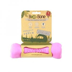 BECO Bone EKO kost pro psy - růžová M