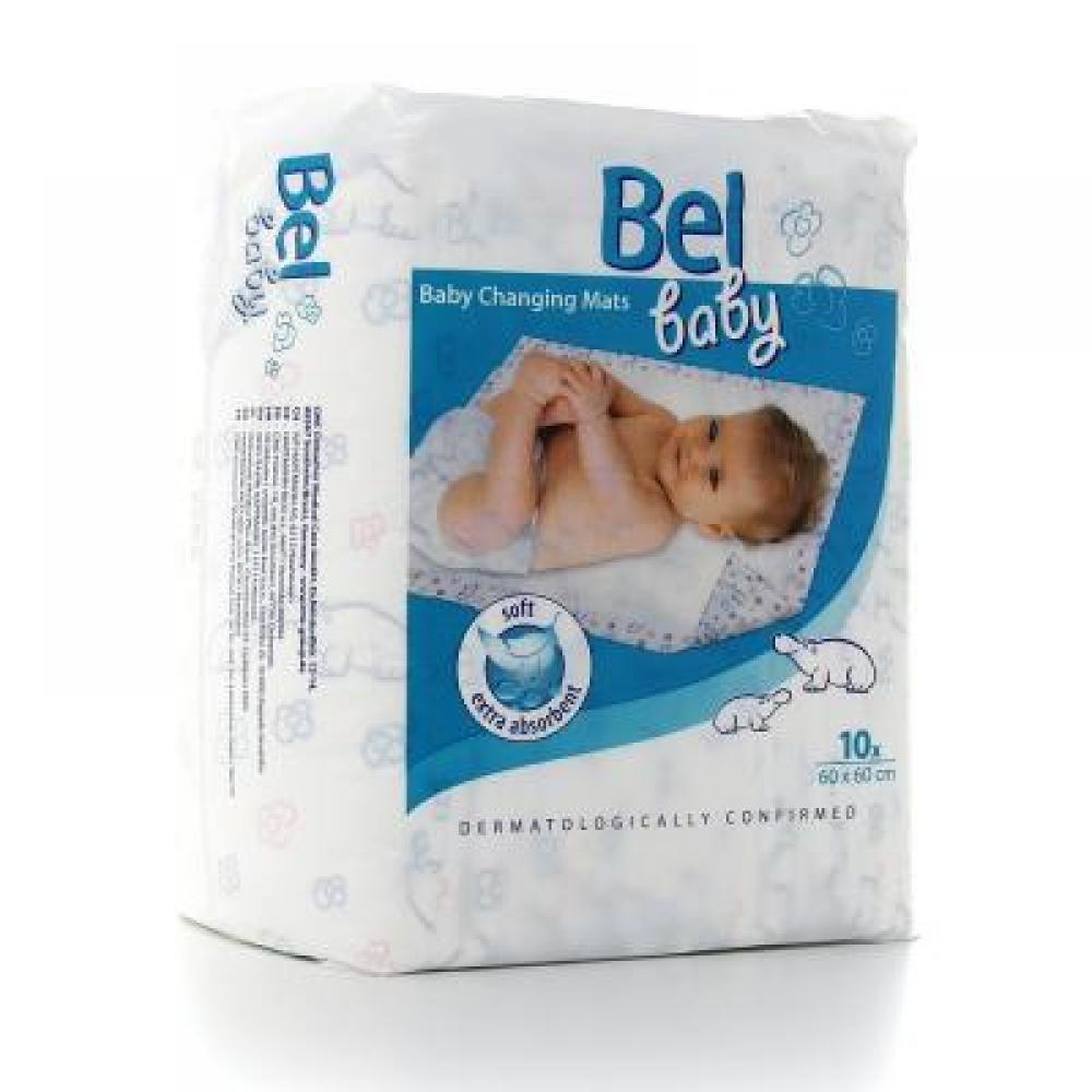 Bel baby přebalovací podložky 60x60 10ks