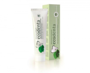 ECODENTA Bělicí zubní pasta s mátovým olejem, šalvějí a Kalidentem 100 ml