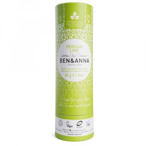 BEN & ANNA Tuhý deodorant BIO Perská limetka 60 g