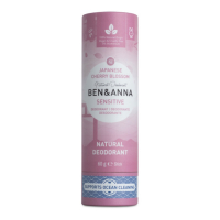 BEN & ANNA Tuhý deodorant Sensitive BIO Třešňový květ 60 g