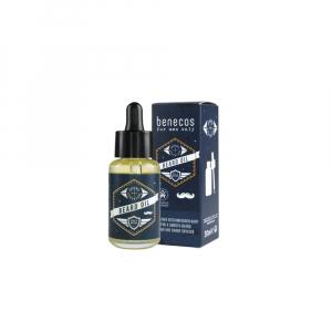 BENECOS Olej na vousy pro muže 30 ml