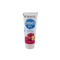 BENECOS Sprchový gel Granátové jablko a růže BIO 200 ml