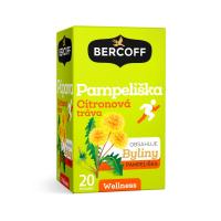 BERCOFF KLEMBER Čaj Pampeliška Citronová tráva 20 sáčků