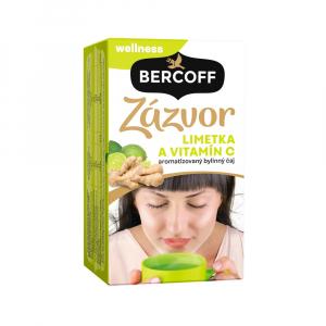 BERCOFF KLEMBER Zázvor limetka vitamin C čaj 36 g