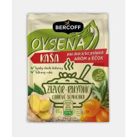 BERCOFF Ovesná kaše s lněným semínkem, rakytníkem a zázvorem 60 g