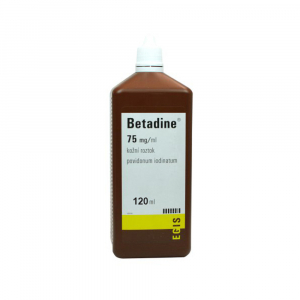 BETADINE Dezinfekce rukou 75 mg 120 ml