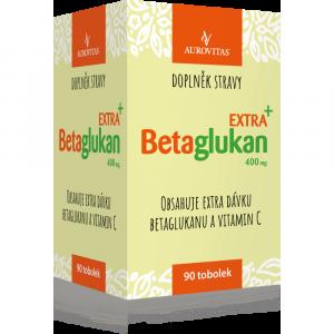 AUROVITAS Betaglukan Extra+ 400 mg 90 tobolek