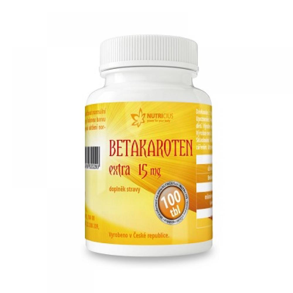 Levně Betakaroten EXTRA 15mg tbl.100
