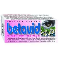NATURVITA Betavid se světlíkem lékařským 60 tablet