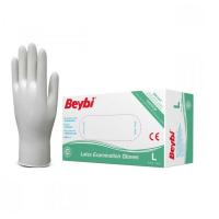 BEYBI Latexové rukavice velikost L 100 kusů