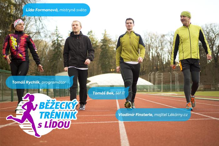 Běžecký trénink s Lídou: Mám (tréninkový) plán