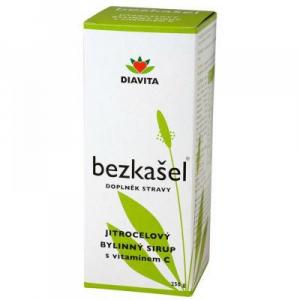 DIAVITA Bezkašel jitrocelový bylinný sirup 250 g