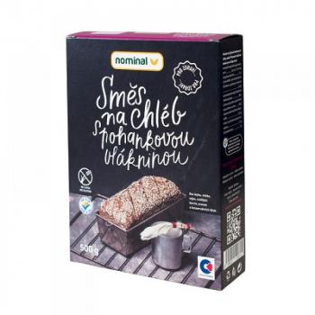 NOMINAL Směs na chléb s pohankovou vlákninou bez lepku 500 g