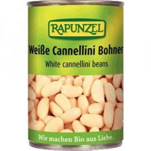 RAPUNZEL Bílé fazole sterilovaná BIO 400 g