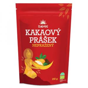 ISWARI Kakaový prášek nepražený BIO 250 g