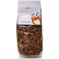 BIO NEBIO kakaové hvězdičky s rapadurou 150 g BO
