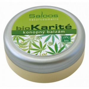 SALOOS BioKarité Konopný balzám 50 ml