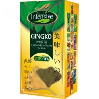 Intensive GINGKO, zelený čaj s japonským listem JINANU porcovaný 20 x 1,5 g, n.s.
