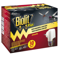 BIOLIT Plus Elektrický odpařovač 30 nocí + náplň 31 ml