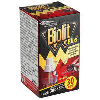 BIOLIT Plus Tekutá náplň citron na komáry a mouchy 30 nocí 27 ml