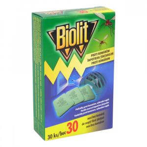BIOLIT Polštářky do elektrického odpařovače 30 ks