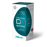 BIOMIN Calcium s vitaminem D cps. 60