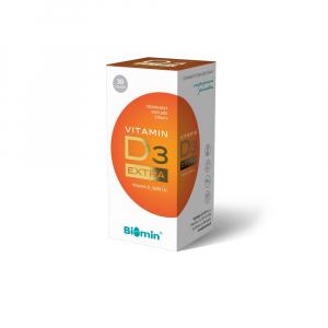 BIOMIN Vitamin D3 Extra 5600 I.U. 30 tobolek